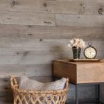 DIY textured wood wall